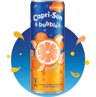 Capri-Sun & bubbles Orange