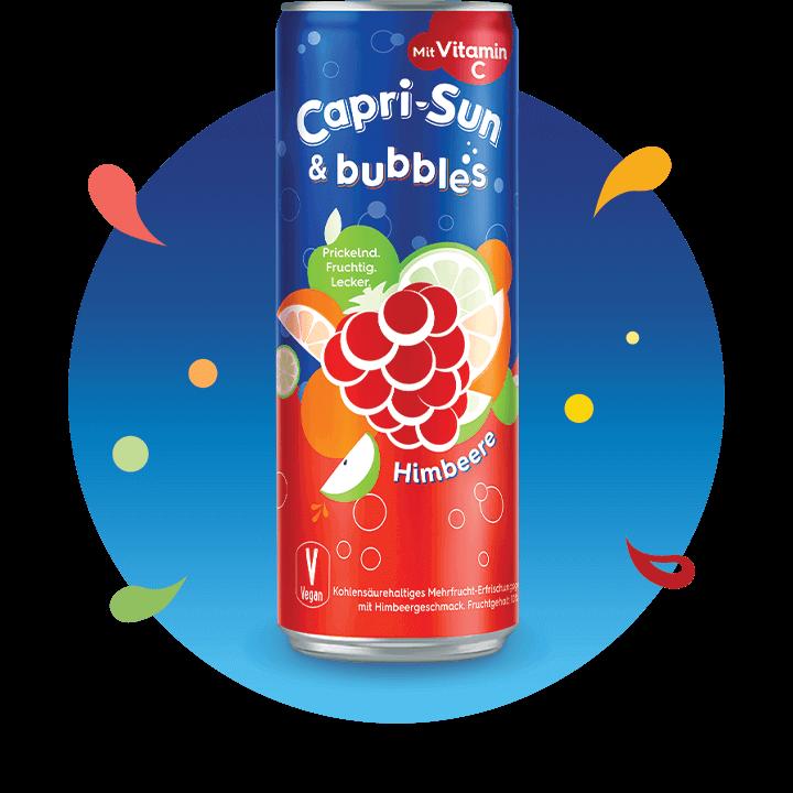 Carpi-Sun & bubbles Himbeere