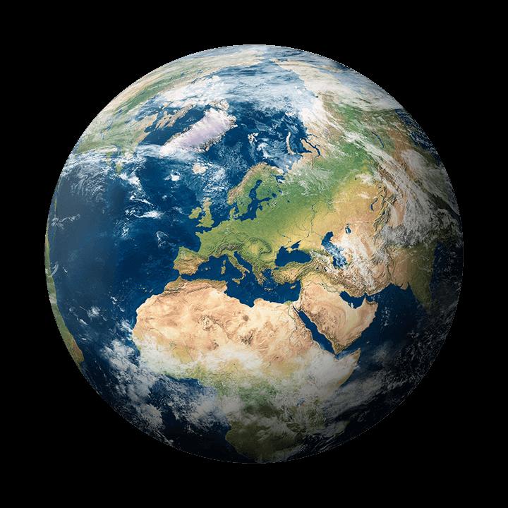 planet erde afrika europa