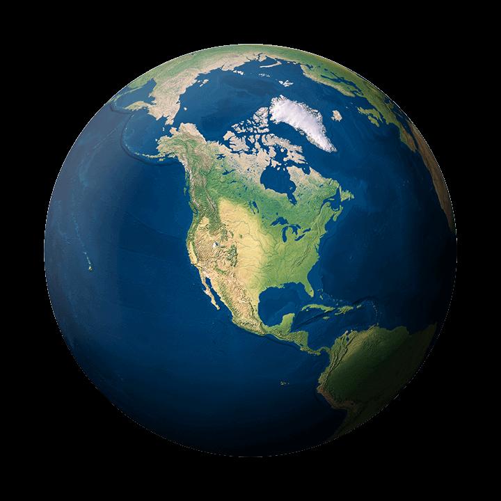 planet erde amerika