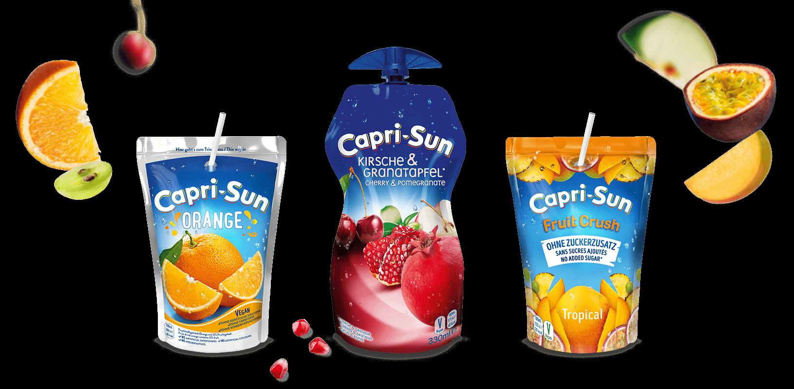 Capri-Sun Header Desktop paper straw