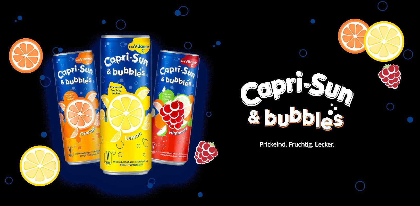 Capri Sun   Erfrischende Fruchtsaftgetränke