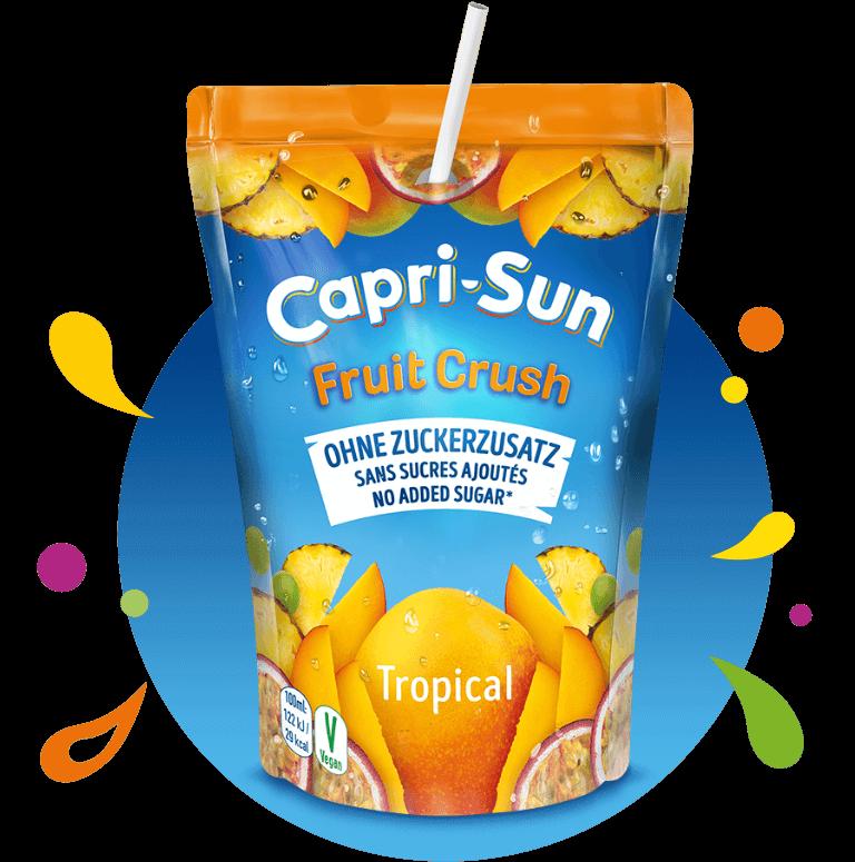 Capri-Sun 200ml Pouch Fruit Crush Tropical