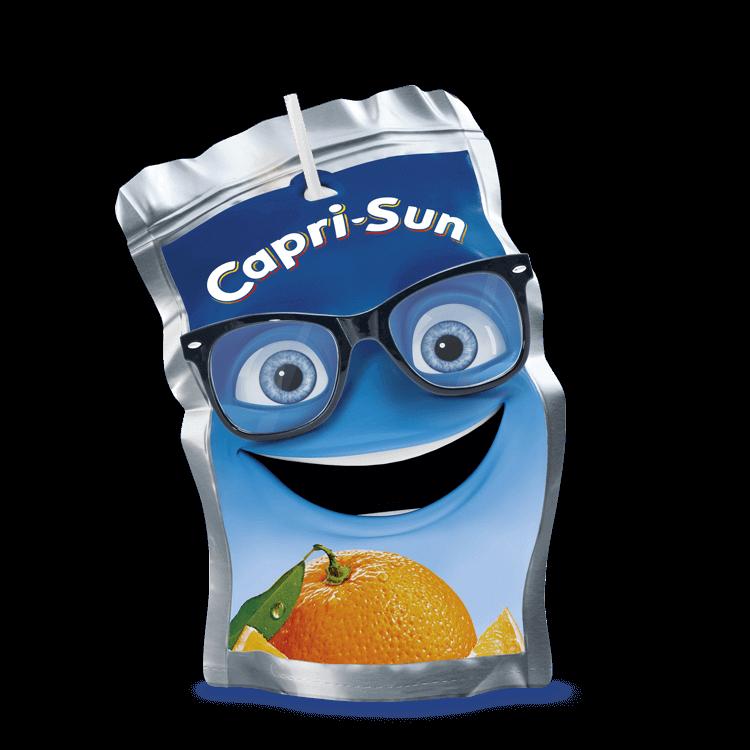 Capri-Sun Sunny with glasses