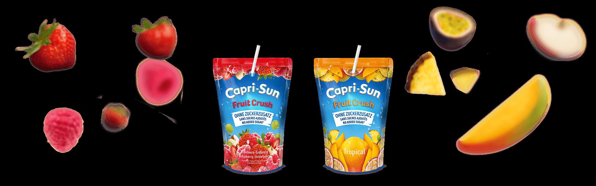 Capri-Sun Website Header Pure