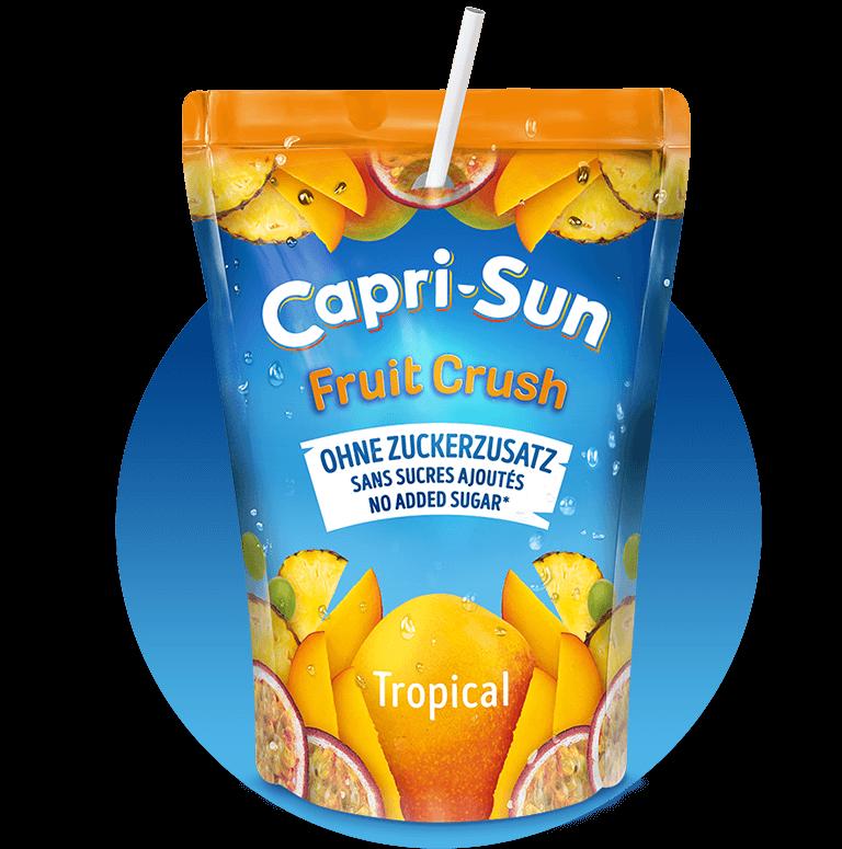 Capri-Sun Fruit Crush Tropical Pouch