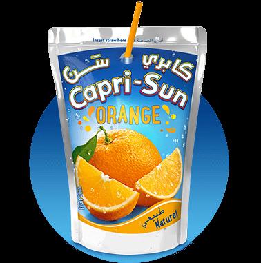 Capri-Sun Orange 200ml with background Nigeria