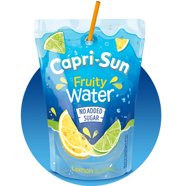 Capri-Sun Fruity Water No added sugar Lemon Lime 200ml
