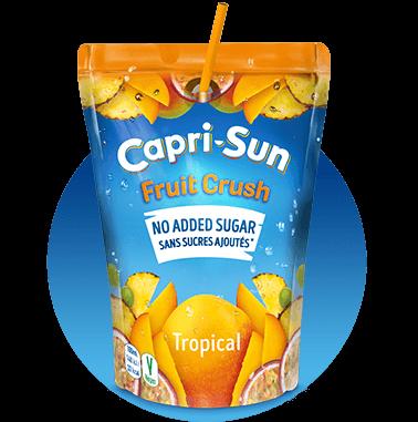 Capri Sun Orange 200ml Fruit Crush No added sugar Tropical 200ml