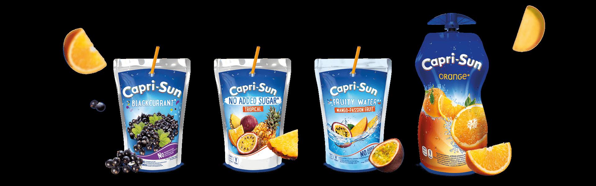 Capri-Sun Flavours